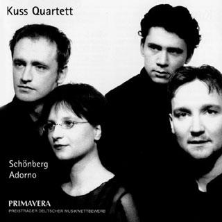 Adorno – Schönberg | quatuors