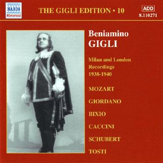 archives Beniamino Gigli | enregistrements 1938-1940 (vol.10)
