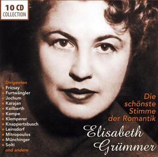 la belle Elisabeth Grümmer, grand soprano dramatique de l'après-guerre