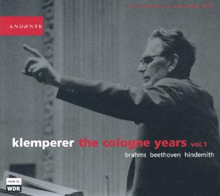 archives Otto Klemperer | Beethoven – Brahms – Hindemith (vol.1)