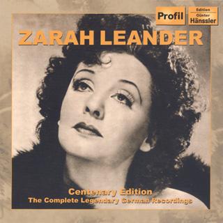 archives Zarah Leander | intégrale des enregistrements allemands