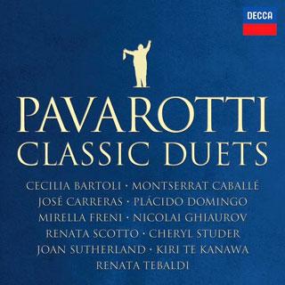 quinze duos d'opéra avec Luciano Pavarotti, disparu en 2007