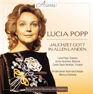 Lucia Popp chante Bach, Händel et Telemann