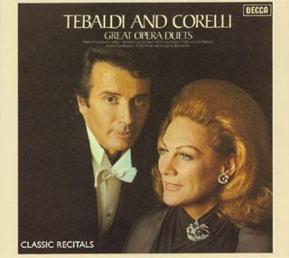 archives Franco Corelli et Renata Tebaldi : de grands duos d'opéra