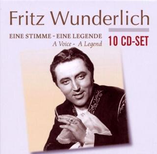 Airs d'opéra, d'opérette et Lieder par le ténor Fritz Wunderlich (1930-1966)