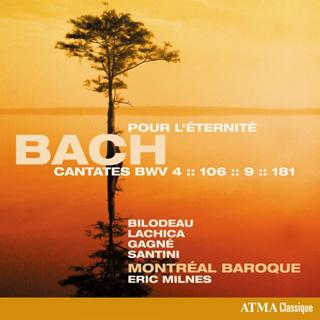 À la tête de Montréal Baroque, Eric Milnes joue quatre cantates de Bach