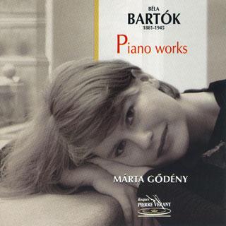 Márta Godény interprète des pièces pour piano de Bartók