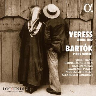 programme de pièces avec cordes signées Béla Bartók et Sándor Veress