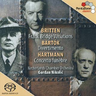 Gordan Nikolić et le Nederlands Kamer Orkest | Bartók – Britten – Hartmann