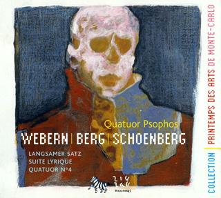 récital Quatuor Psophos | Berg – Schönberg – Webern