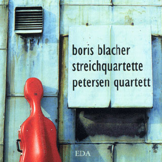 Boris Blacher | intégrale des quatuors à cordes