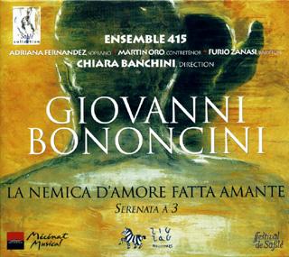 Giovanni Bononcini | La nemica d'amore fatta amante