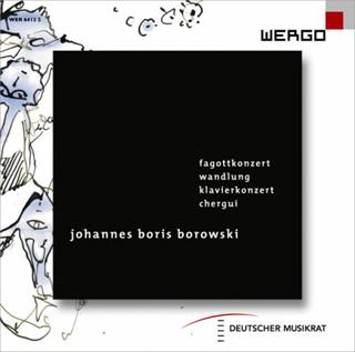 quatre œuvres pour orchestre de Johannes Boris Borowski (né en 1979)