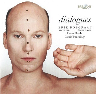 """Erik Bosgraaf transcrit pour flûte à bec """"Dialogue de l'ombre double"""" de Boulez"""
