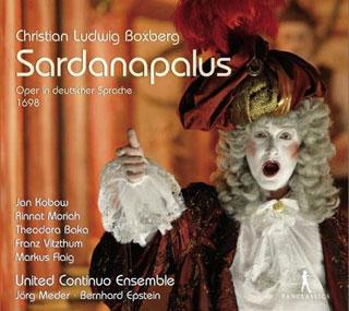 À Stuttgart, Jörg Meder joue Sardanapalus (1698), un opéra de Boxberg