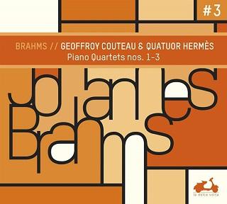 Geoffroy Couteau et le Quatuor Hermès jouent les quatuors avec piano de Brahms