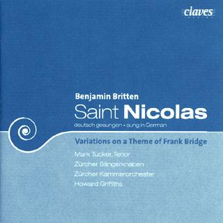 Britten | Variations sur un thème de Frank Bridge – Cantate Saint Nicolas