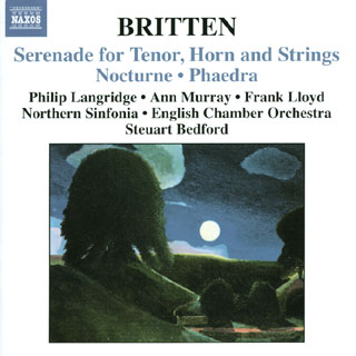 Benjamin Britten | Serenade for tenor – etc.
