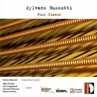 Sylvano Bussotti joue ses propres pièces pour piano ou clavecin