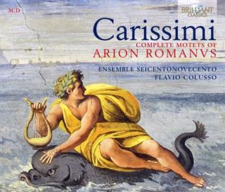 Flavio Colusso joue Arion Romanus (1670), cycle de motets signé Carissimi