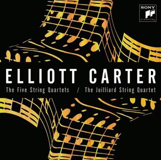 intégrale des quatuors à cordes d'Elliott Carter (Sony)