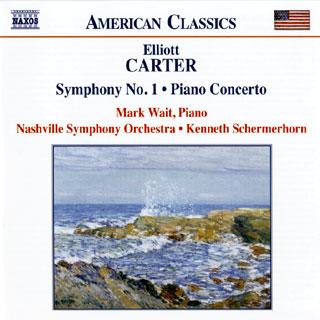 Elliott Carter | Overture – Symphonie n°1 – Concerto pour piano