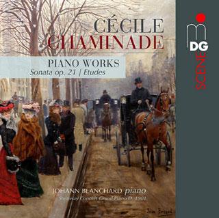 Le pianiste Johann Blanchard joue Cécile Chaminade (1857-1944)