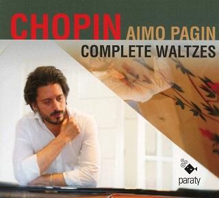 Le pianiste Aimo Pagin joue les dix-huit valses de Fryderyk Chopin