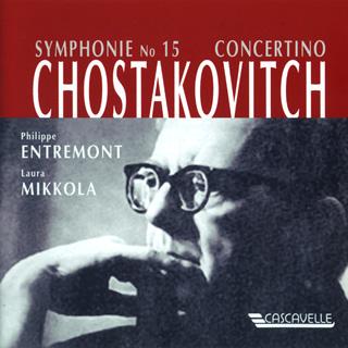 Les pianistes Philippe Entremont et Laura Mikkola jouent Chostakovitch