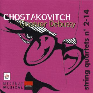 Dmitri Chostakovitch | quatuors n°2 – n°14