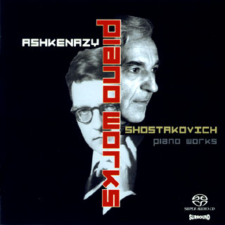 Le pianiste Vladimir Ashkenazy joue Dmitri Chostakovitch