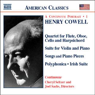 Henry Cowell | musique de chambre (vol.1)