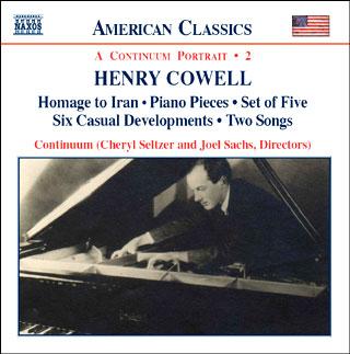Henry Cowell | musique de chambre (vol.2)