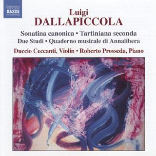 Luigi Dallapiccola | œuvres pour violon et piano