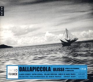 Ulisse de Dallapiccola, enregistré en 1975, sous la direction d'Ernest Bour