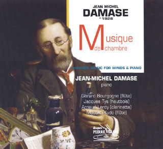 Jean-Michel Damase | pièces avec flûte