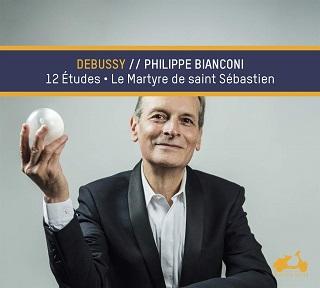 Philippe Bianconi joue les Études pour piano de Claude Debussy