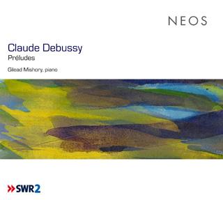 Le pianiste Gilead Mishory joue Préludes de Claude Debussy (1862-1918)
