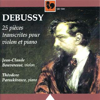 Claude Debussy | transcriptions pour violon et piano