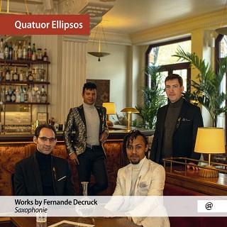 Le Quatuor Ellipsos enregistre les pièces pour saxophone de Fernande Decruck