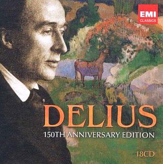 coffret Delius contenant 18 CD paru chez EMI