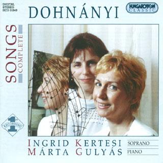 Ernö von Dohnányi | intégrale des mélodies
