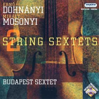 Dohnányi – Mosonyi | sextuors à cordes