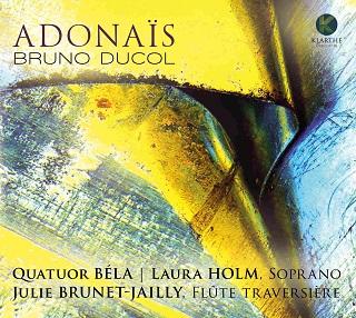 à la découverte d'opus récents de Bruno Ducol (né en 1949)...
