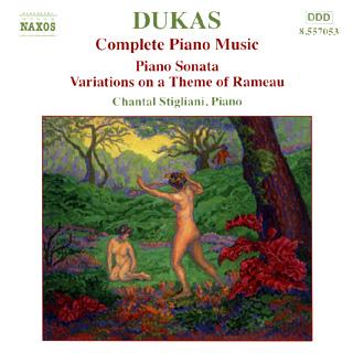 Paul Dukas | intégrale pour piano