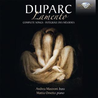 La basse Andrea Mastroni chante les mélodies d'Henri Duparc (1848-1933)