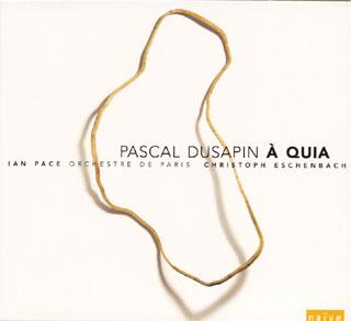 Pascal Dusapin | Sept études – À quia