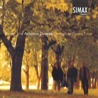 Antonín Dvořák | intégrale des trios avec piano