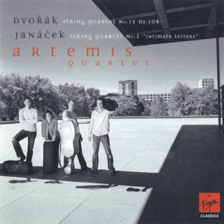Dvořák – Janáček | quatuors à cordes