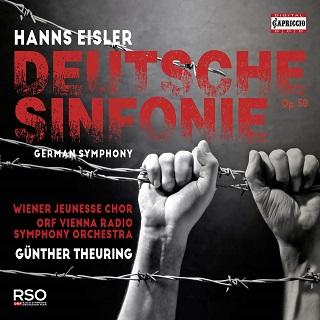 """Passionnante """"Deutsche Sinfonie"""" d'Eisler """"remasterisée"""" d'après un live de 1989"""